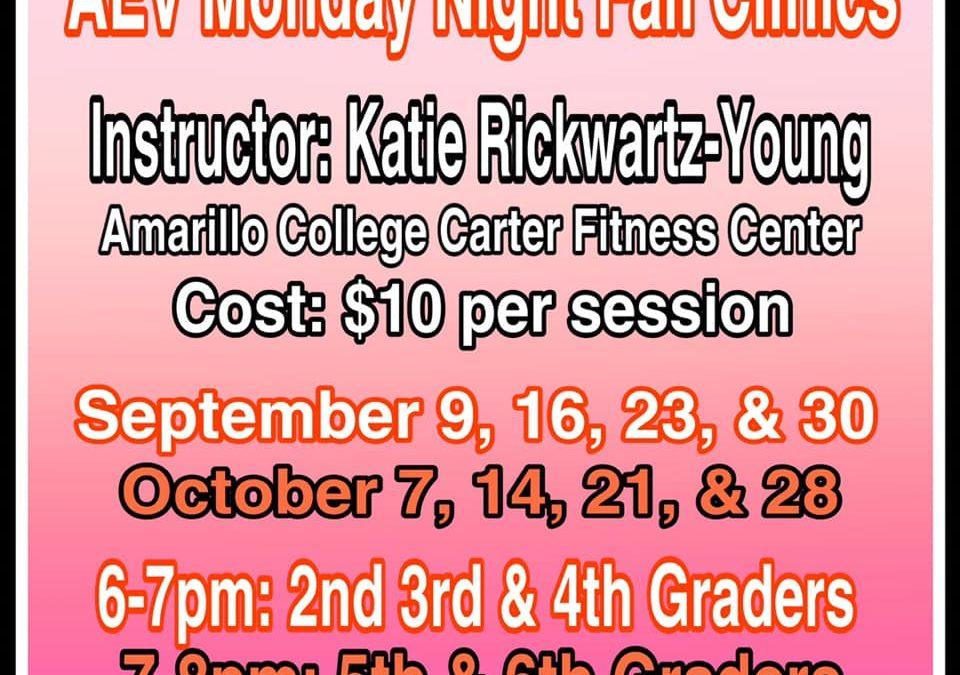 AEV Monday Night Fall Clinics