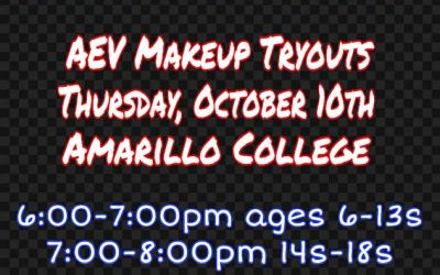 AEV Makeup Tryouts