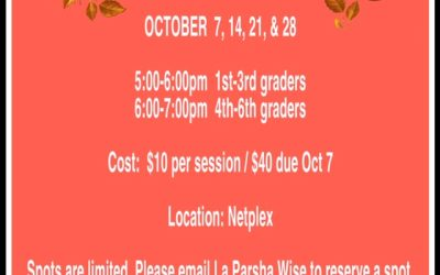 AEV Wednesday Night, October Clinics 2020